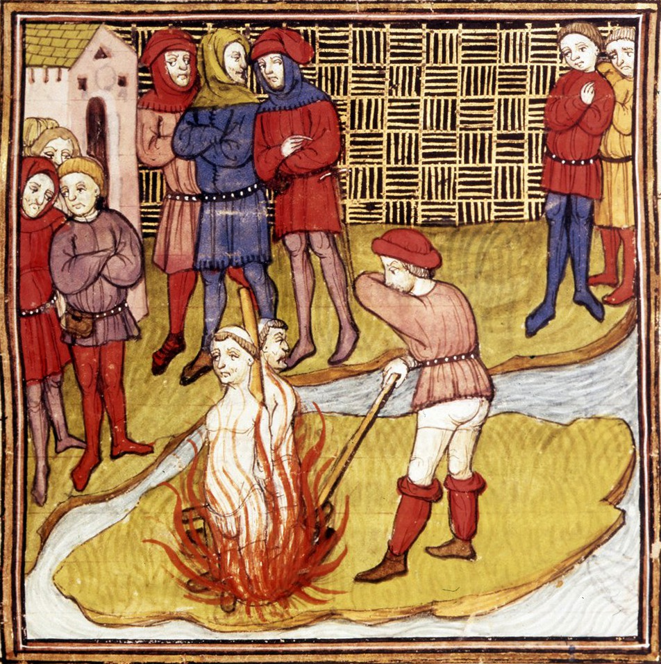 Templars Burning - Wikipedia Image