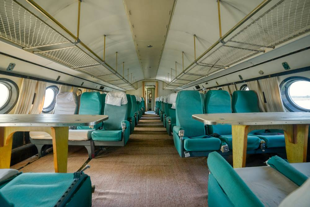 First Class Spacious Cabin